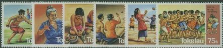TOK SG97-102 Traditional Pastimes set of 6
